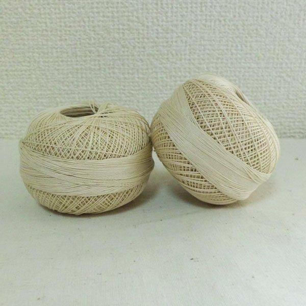画像1: Lizbeth(リズベス)レース糸 単色 Size10 Col.603 【Ecru】 (1)